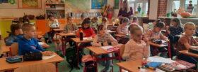 Lekcja angielskiego w klasie I